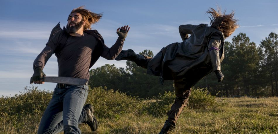 AMC's 'The Walking Dead,' Season 8 finale, Episode 16, Wrath, purple armbands