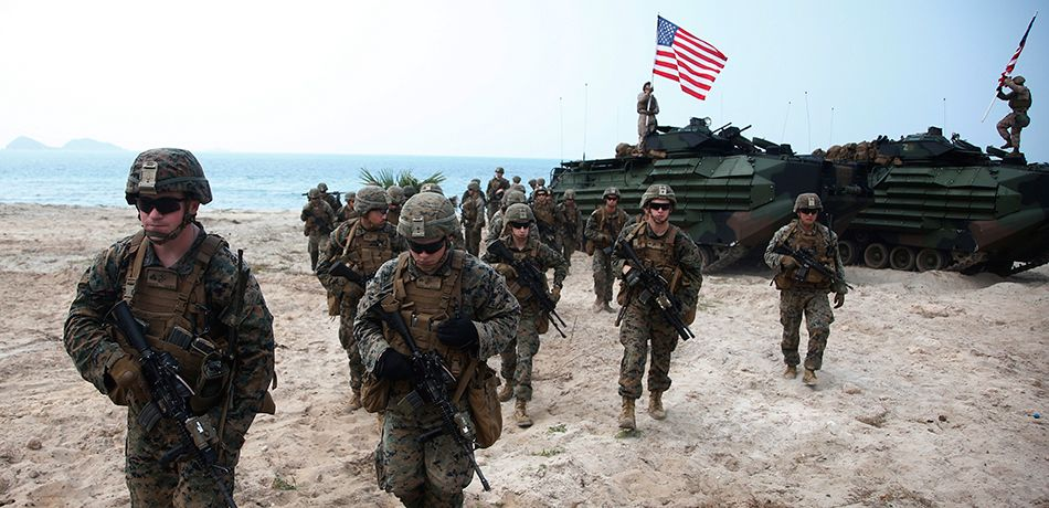 South Korea and US Military Hold Beach Landing Drills