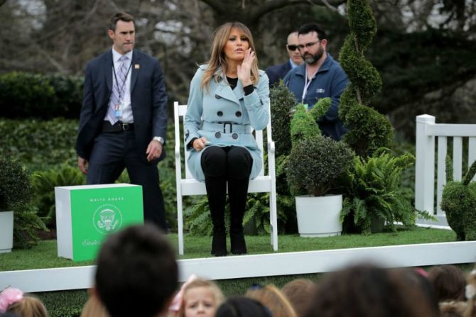 Jimmy Kimmel made fun of Melania Trump's foreign accent.