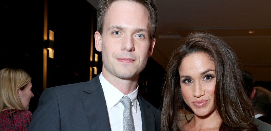 Meghan Markle reportedly invited her TV husband Patrick J. Adams to her royal wedding to Prince Harry