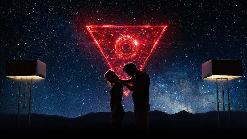 Poster of TAU, one of the Netflix movies coming in the month of June 2018.