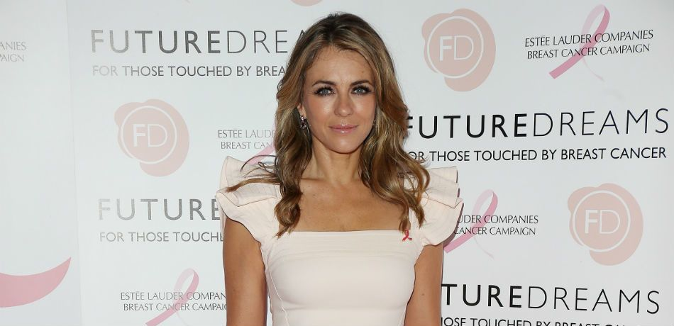 Elizabeth Hurley attends a charity event.