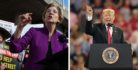 Elizabeth Warren and Donald Trump blasted each other at separate rallies--preview of 2020 presidential race?