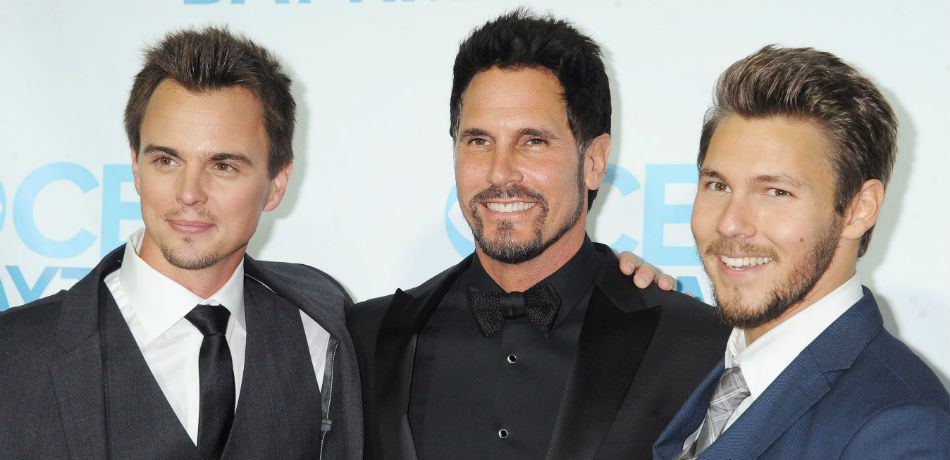 BandB_CBS Bold and the Beautiful spoilers for Friday July 13 Bill (Don Diamont) finds out from Wyatt (Darin Brooks) that Liam (Scott Clifton) is about to become a dad again