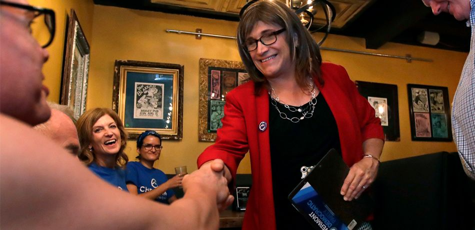 Christine Hallquist is the first transgender candidate to win a nomination for governor from a major party.