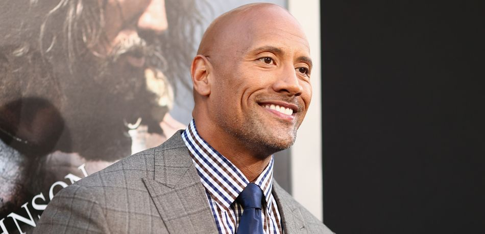 "Actor Dwayne ""The Rock"" Johnson."