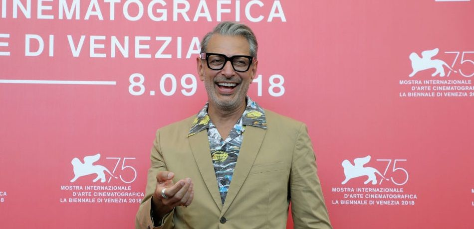 jeff goldblum attends 'The Mountain' photocall during the 75th Venice Film Festival at Sala Casino on August 30, 2018 in Venice, Italy.