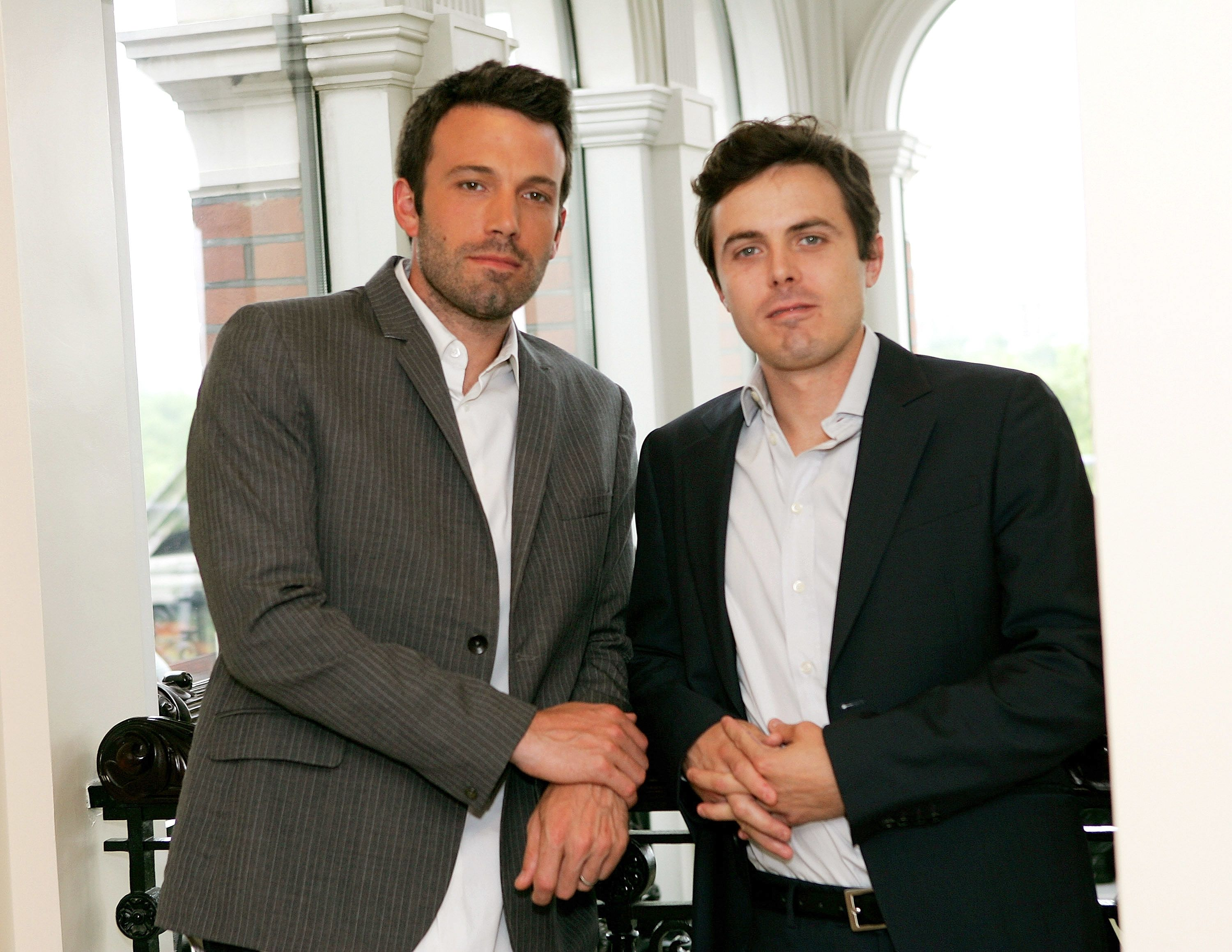 Ben Affleck and Casey Affleck, May 28, 2008