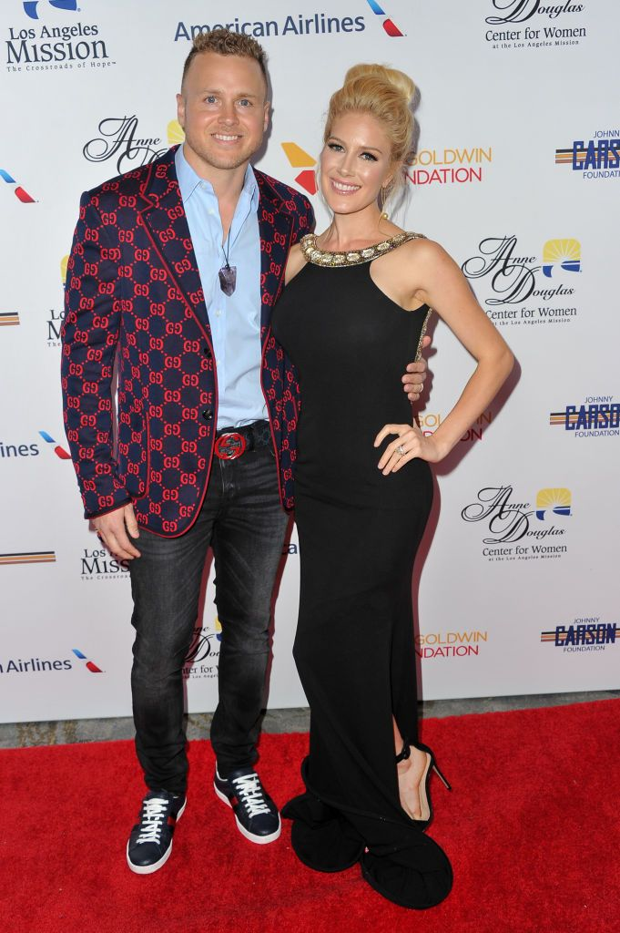 Spencer Pratt and Heidi Pratt attend the Los Angeles Mission Legacy of Vision gala at The Beverly Hilton Hotel on October 25, 2018 in Beverly Hills, California.