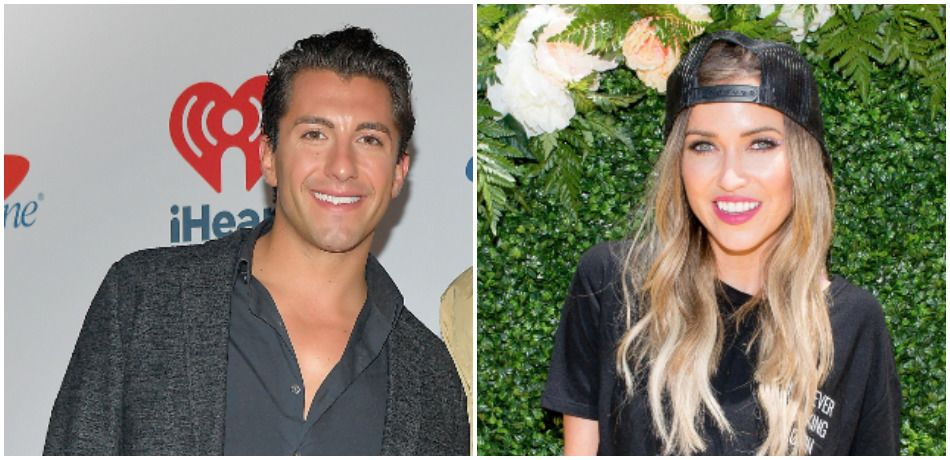 Jason Tartick at the iHeartRadio Music Festival and Kaitlyn Bristowe at the Bumble and Lady Antebellum event