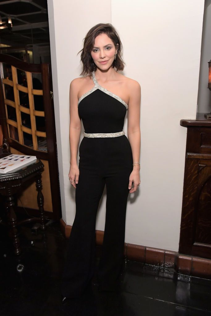 Katharine McPhee celebrates the new film 'Mary, Queen of Scots' with Vanity Fair and Focus Features at Chateau Marmont on December 6, 2018 in Los Angeles, California.