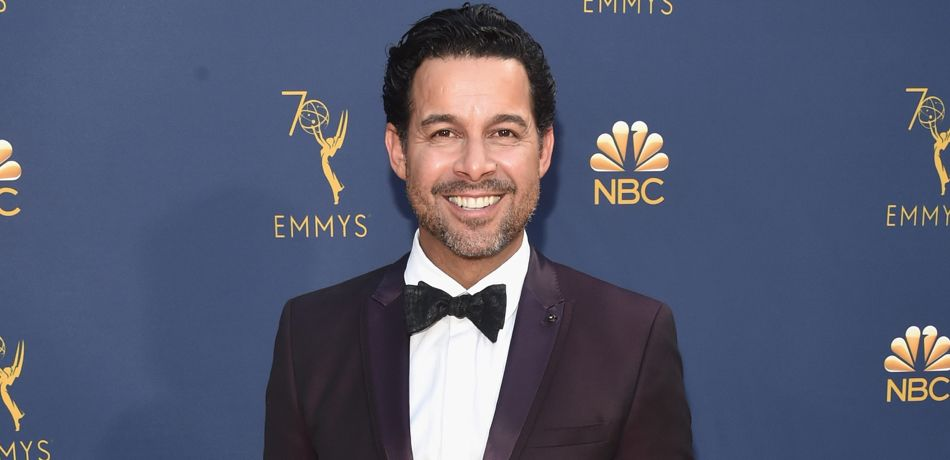 Jon Huertas attending the 70th Emmy Awards at Microsoft Theater.