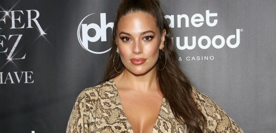 Ashley Graham attends the after party for the finale of Jennifer Lopez's 2018 Las Vegas residency.