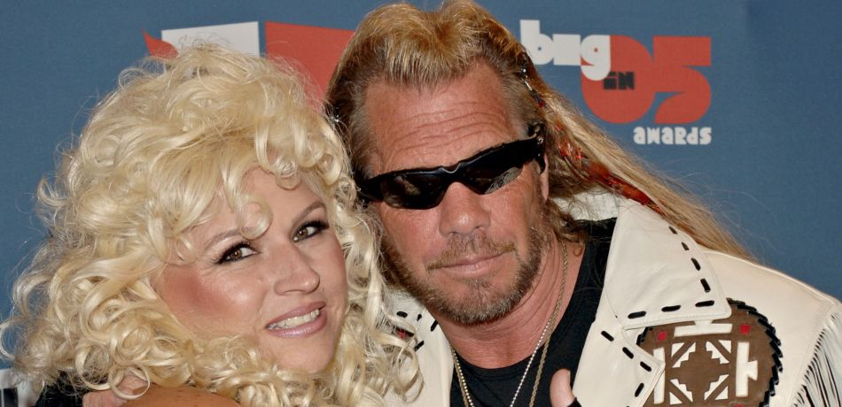 Bounty Hunter Duane 'Dog' Chapman and Beth Chapman arrive at the VH1 Big In '05 Awards