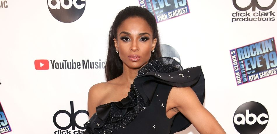 Ciara attends Dick Clark's New Year's Rockin' Eve With Ryan Seacrest 2019