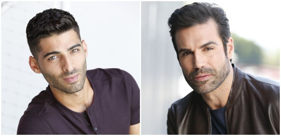 Jason Canela (Arturo) and Jordi Vilasuso (Rey) on The Young and the Restless