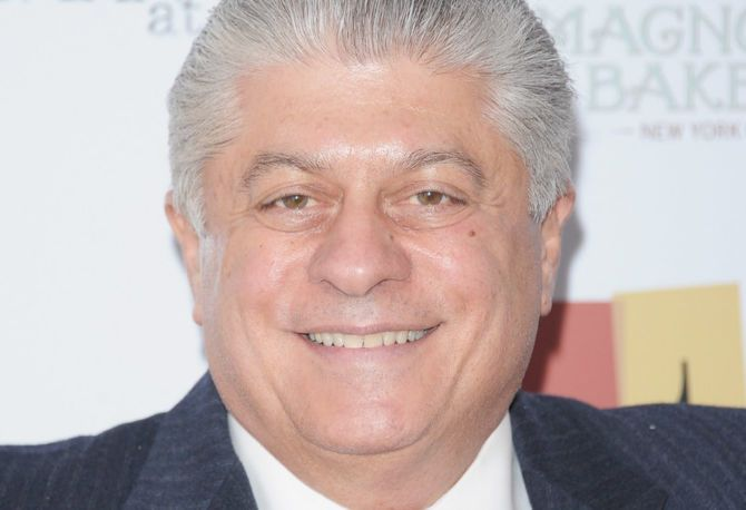 Judge Napolitano smiles.