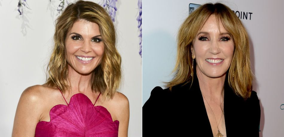 Lori Loughlin attends the 2018 Hallmark Channel Summer TCA. Actress Felicity Huffman arrives at the premiere Of Paladin and Great Point Media's 'Krystal.'