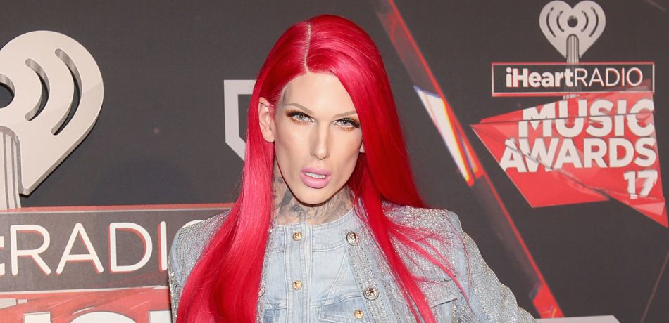 Jeffree Star attends the 2017 iHeartRadio Music Awards.