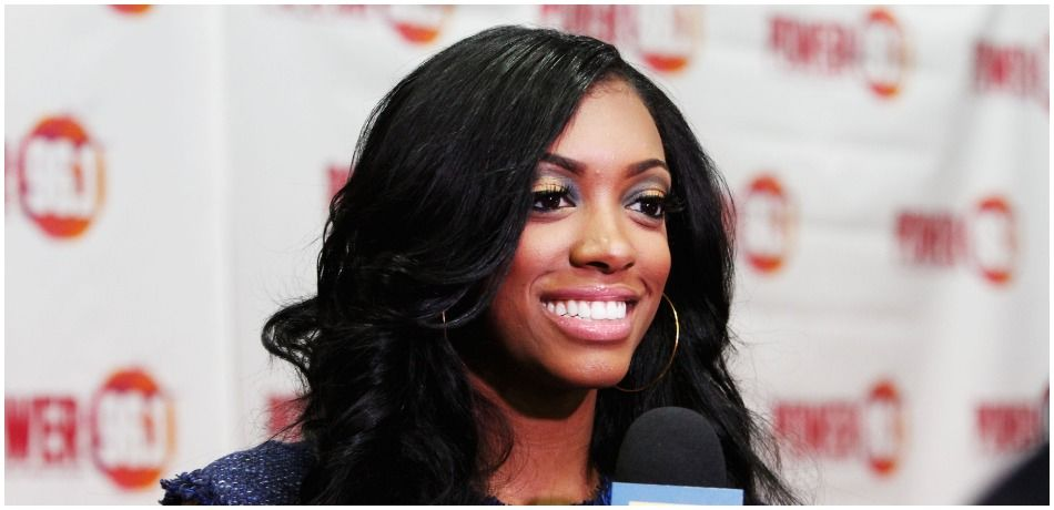 Porsha Stewart attends Power 96.1's Jingle Ball 2012 at the Philips Arena on December 12, 2012 in Atlanta. (