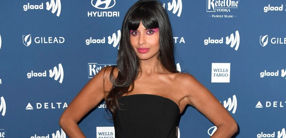 Jameela Jamil attends the 30th Annual GLAAD Media Awards at The Beverly Hilton Hotel on March 28, 2019 in Beverly Hills, California.