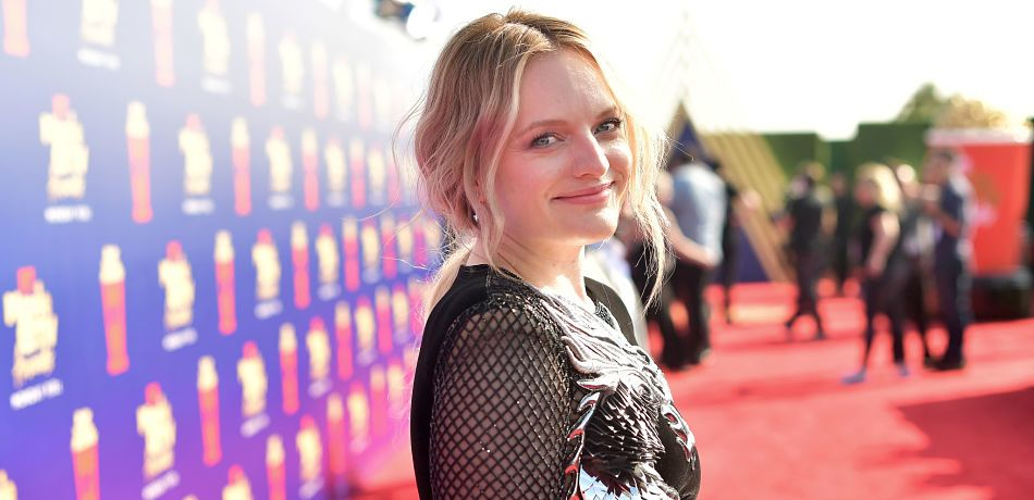 Elisabeth Moss Rocks A Sexy Mini That Is Totally Different From Her 'Handmaid's Tale' Wardrobe