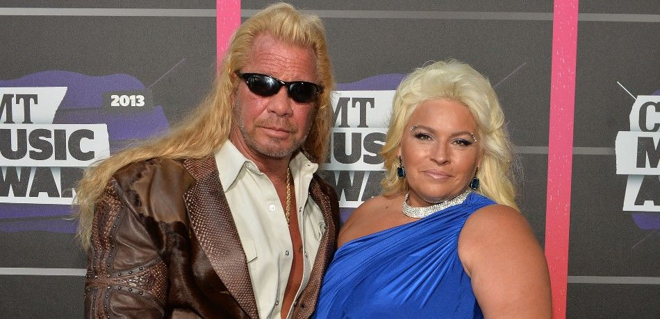 Duane and Beth Chapman on the red carpet.
