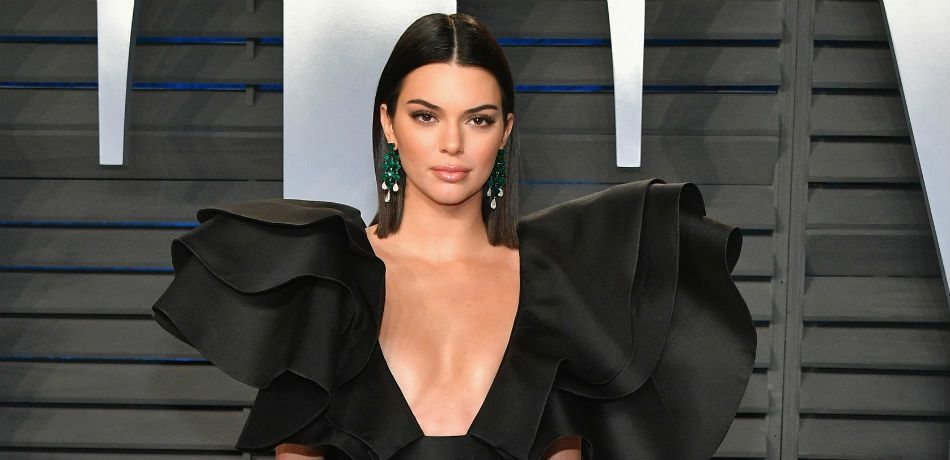 Kendall Jenner at the 2018 Vanity Fair Oscar Party