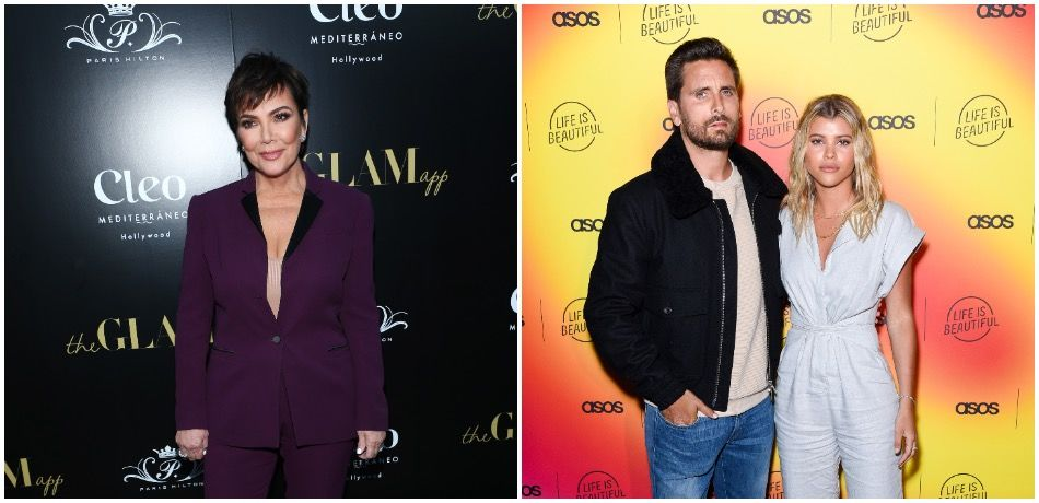 Kris Jenner attends The Glam App Celebration Event/Scott Disick and Sofia Richie attend ASOS celebrates partnership with Life Is Beautiful
