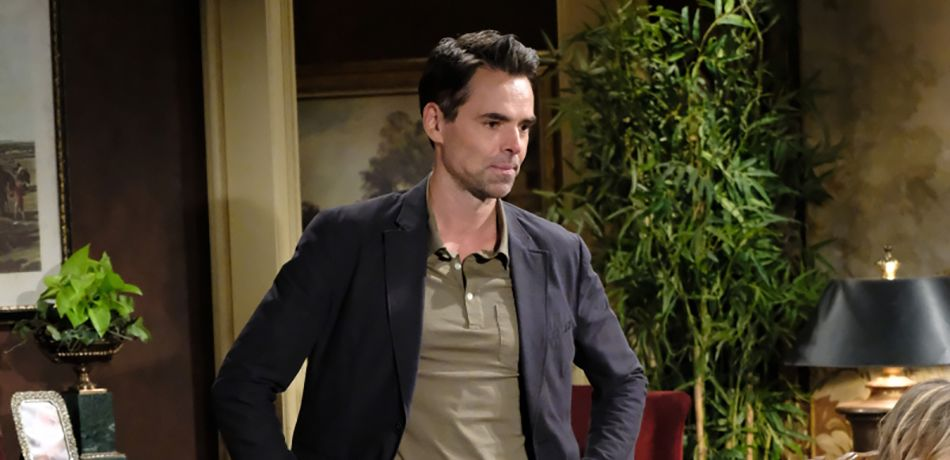 Billy Abbott (Jason Thompson) feels ambushed when his family stages an intervention for his gambling addiction on The Young and the Restless.