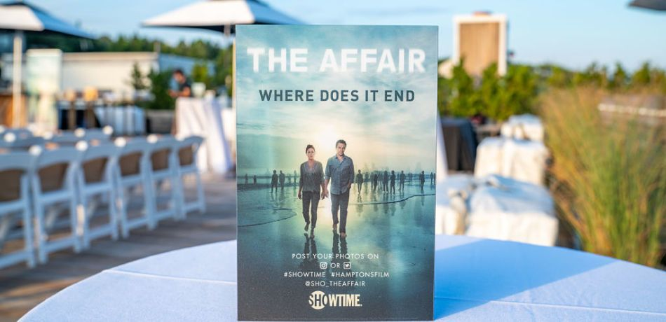 """The Affair"" screening for season 5 took place at Gurney's Inn on August 22"