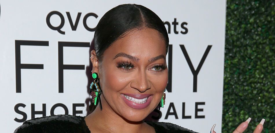 "On October 10, La La Anthony attended the 26th Annual QVC Presents ""FFANY Shoes On Sale"" Gala"