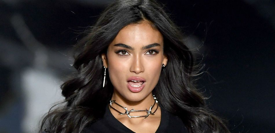 Victoria's Secret Model Kelly Gale Is A Total Smokeshow A Plunging White One-Piece On A Boat