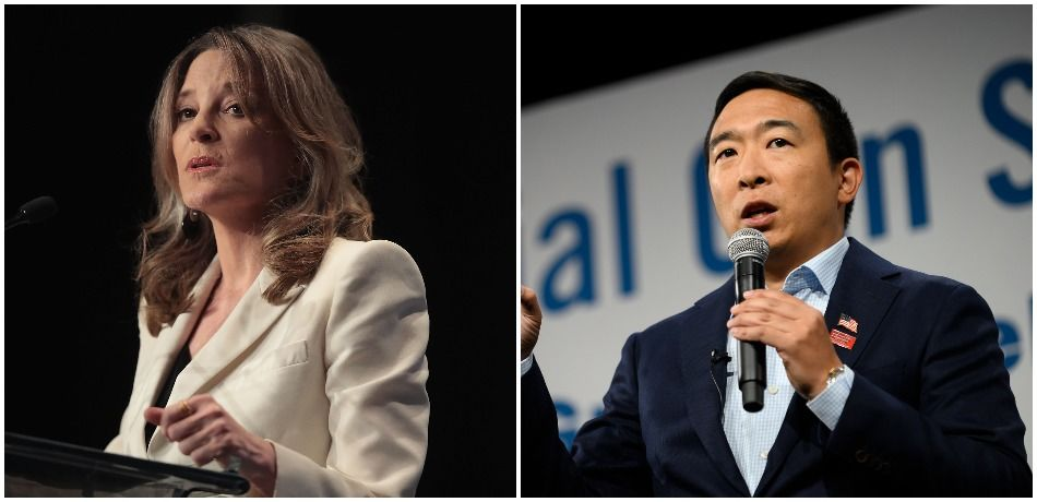 Marianne Williamson Makes Case For Andrew Yang In Iowa: 'He's An Important Voice'
