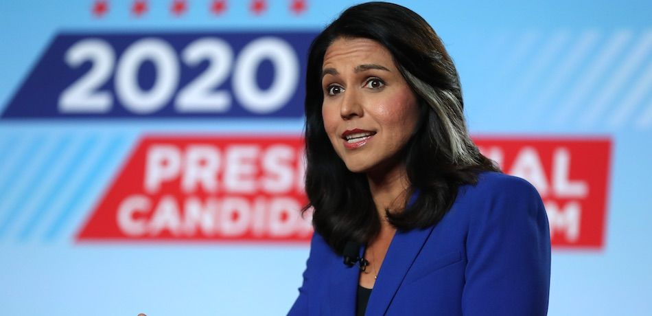Tulsi Gabbard Says 'Everybody Knows' That Hillary Clinton Is A 'Warmonger'