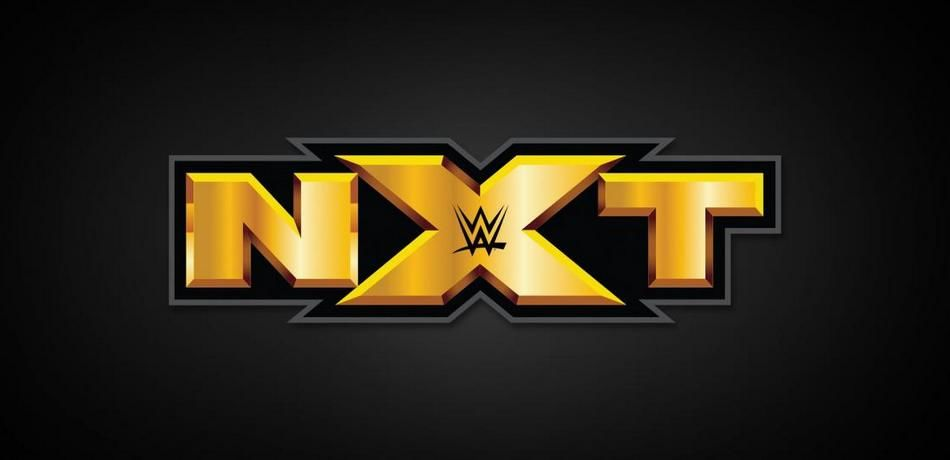 The logo of NXT.