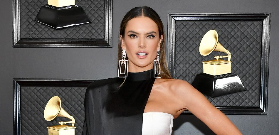 Alessandra Ambrosio attends the 62nd Annual GRAMMY Awards.