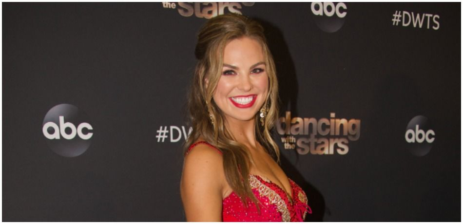 Hannah Brown does press for 'Dancing with the Stars'