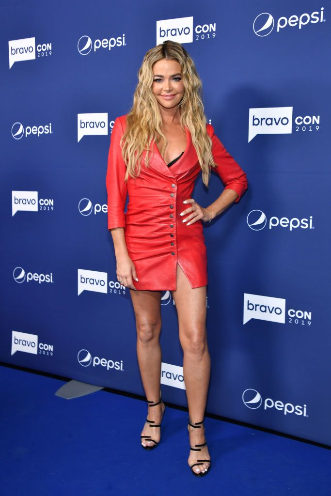 Denise Richards attends the opening night of BravoCon.