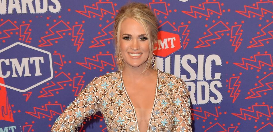 Carrie Underwood attends the 2019 CMT Music Awards