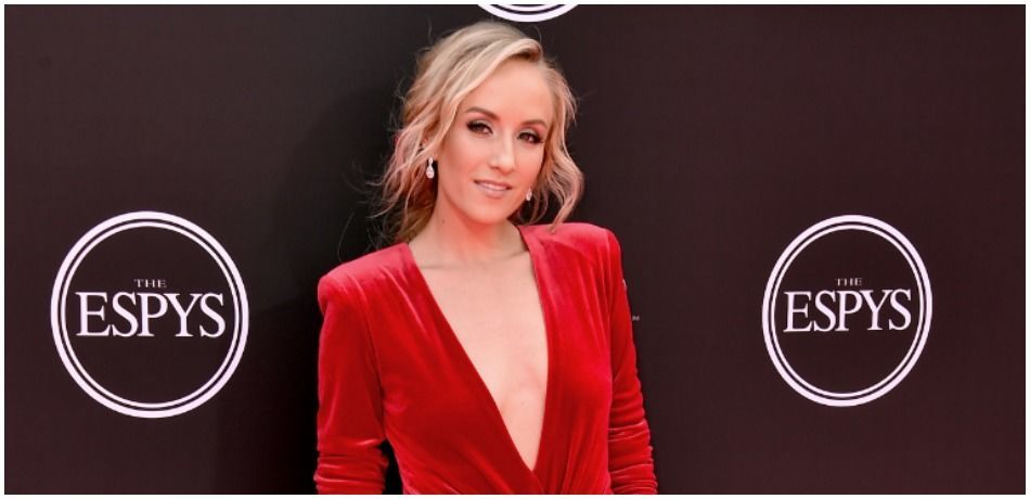 Nastia Liukin is photographed at The 2018 ESPYS.